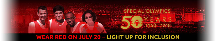 50th light up - wear red