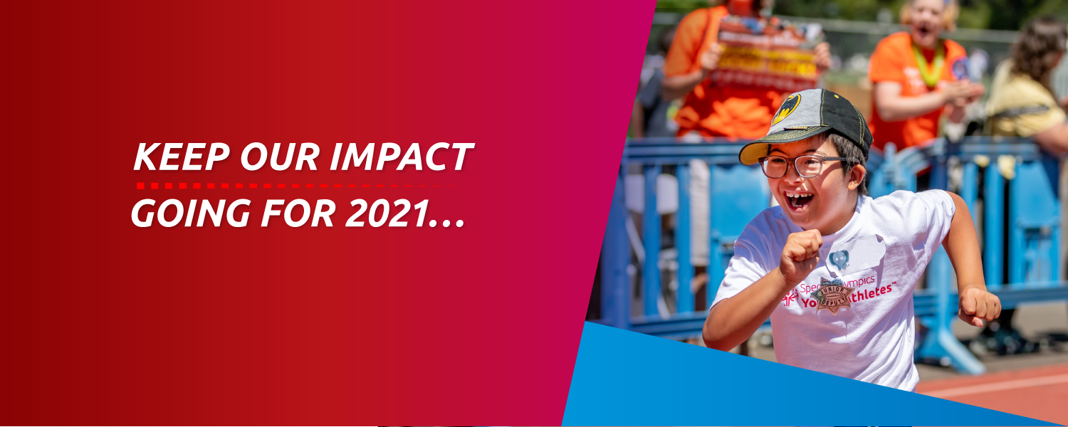 Keep our impact going for 2021